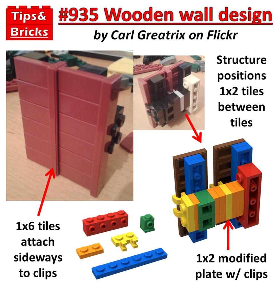 #935 TECHNIQUES: Wooden wall technique