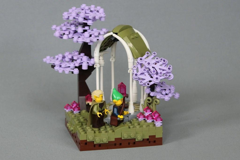 Flowers of Lír Teilien by -LittleJohn