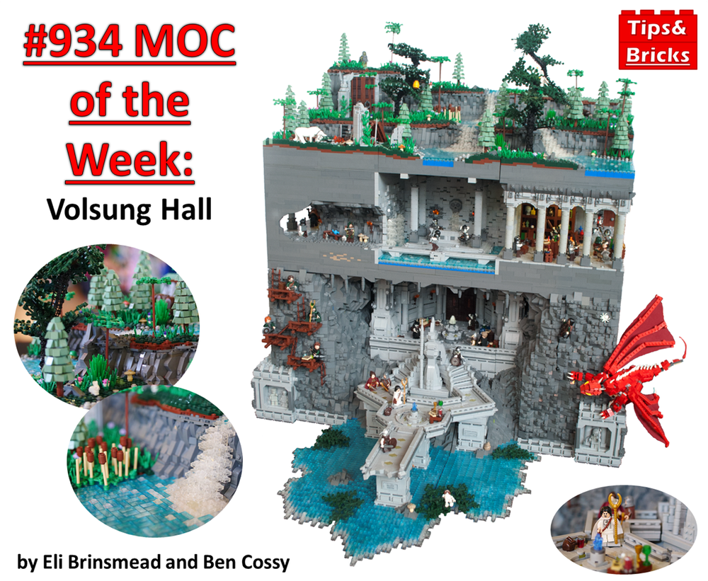 #939 MOC of the Week: Volsung Hall