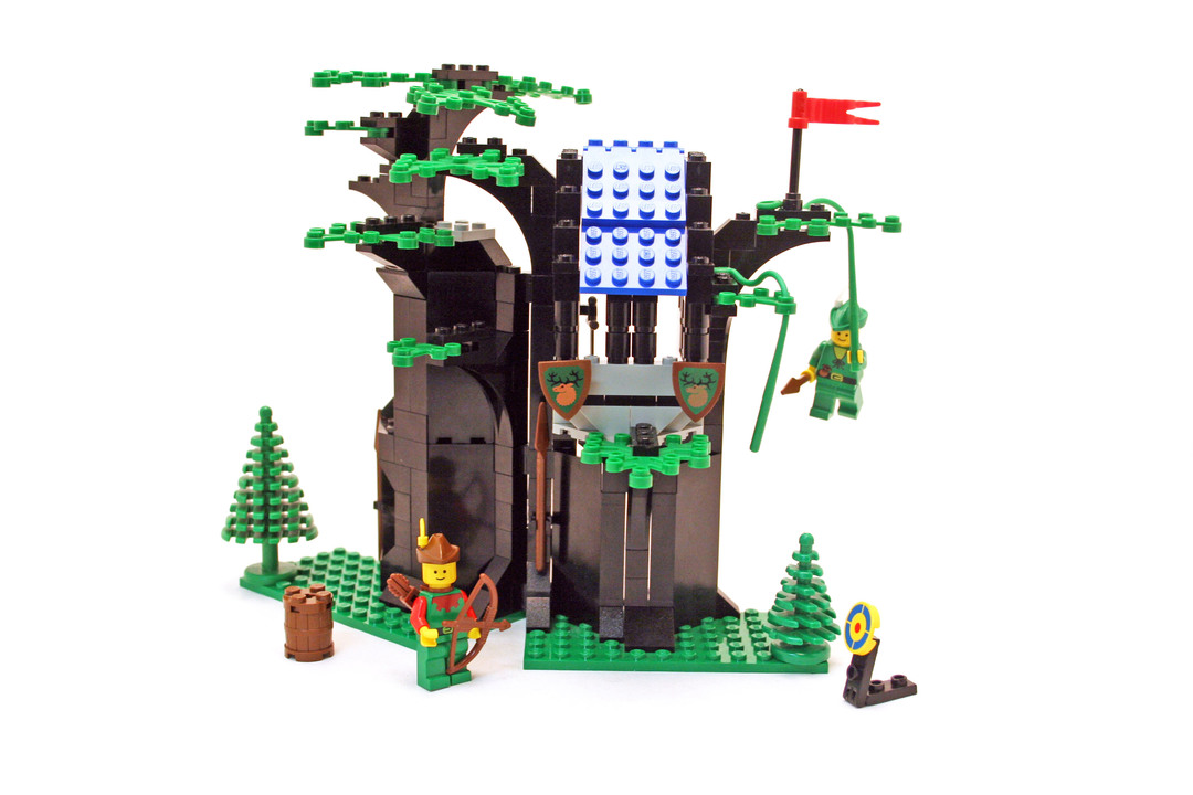 Forestmens Hideout Lego Set 6054 1 Building Sets Castle