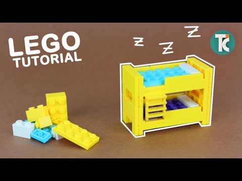 LEGO Bunk Bed (Instructions)