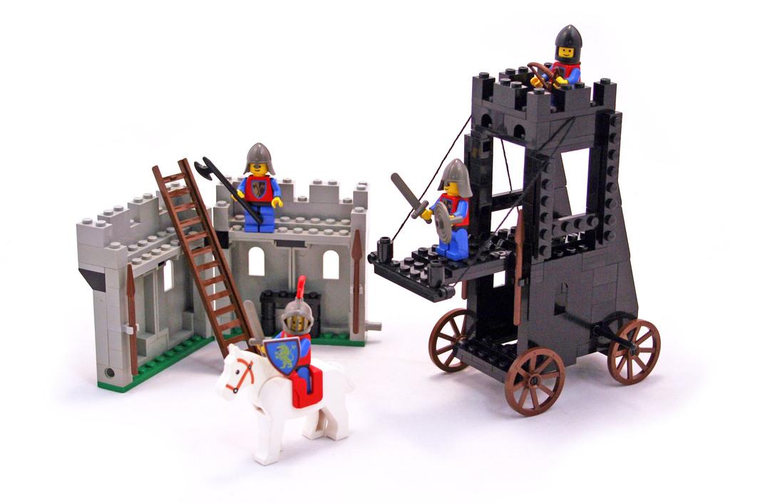 Siege Tower Lego 6061 Building Sets Castle Lion Knights