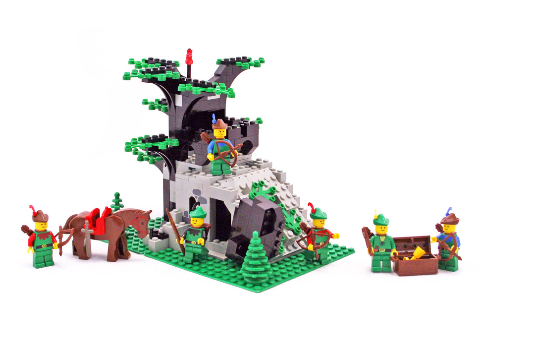 Camouflaged Outpost Lego Set 6066 1 Building Sets Castle