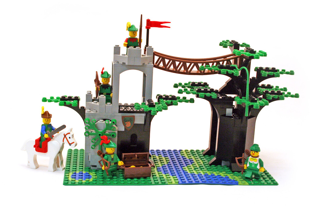 Forestmens Crossing Lego Set 6071 1 Building Sets Castle