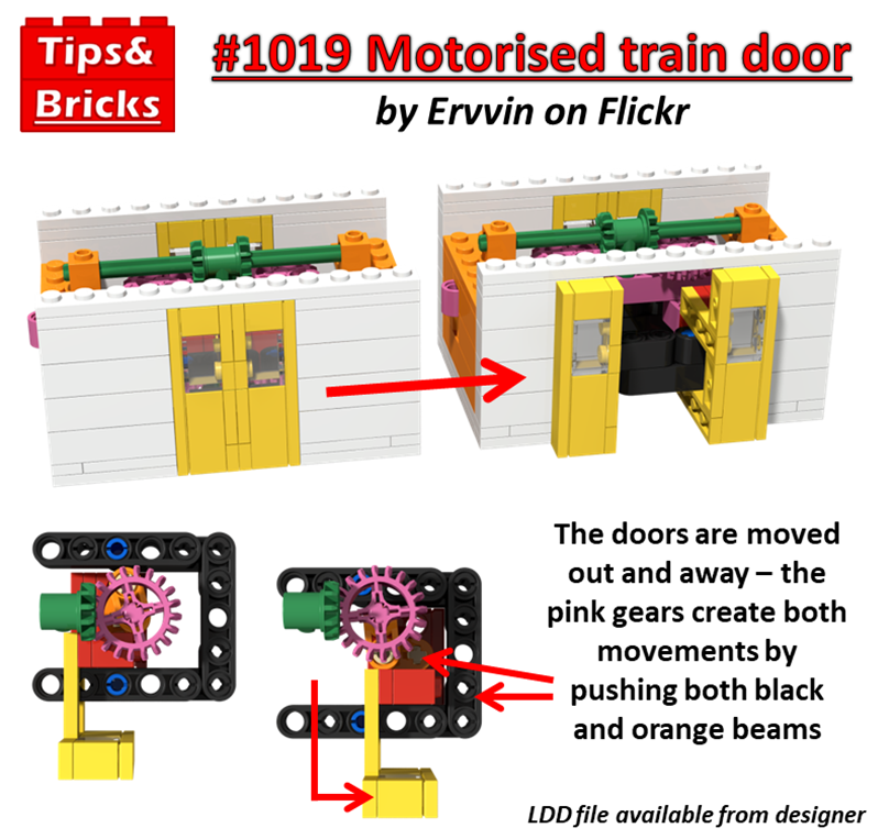 #1019 TECHNIQUES: Motorised train doors