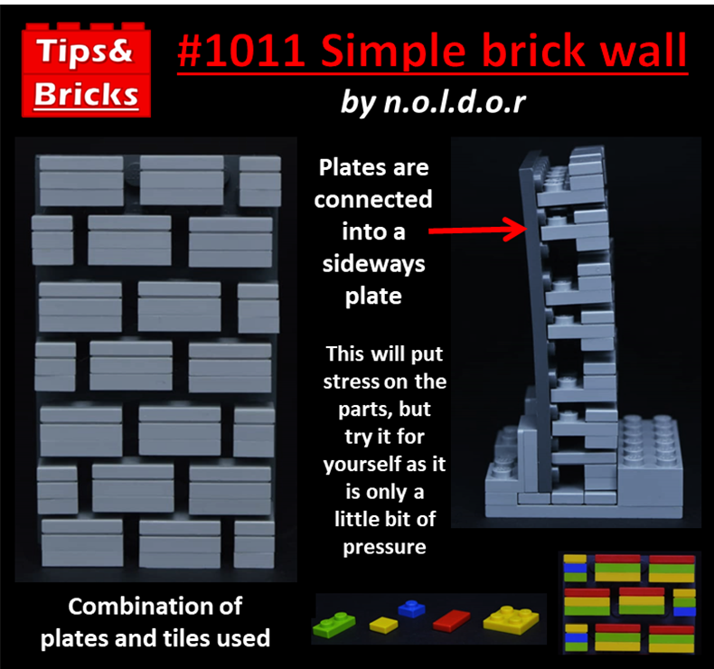 #1017 TECHNIQUES: Simple brick wall