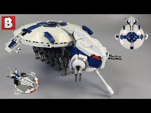Droid Gunship LEGO Custom Build!