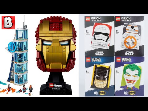 LEGO Ironman Bust Revealed + New Marvel, Mario, and more! | LEGO News