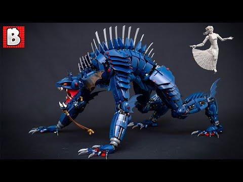 Terrifying and Amazing LEGO! | TOP 10 MOCs