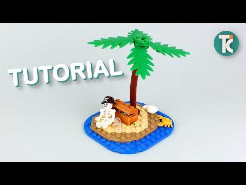 LEGO Small Island (Tutorial)