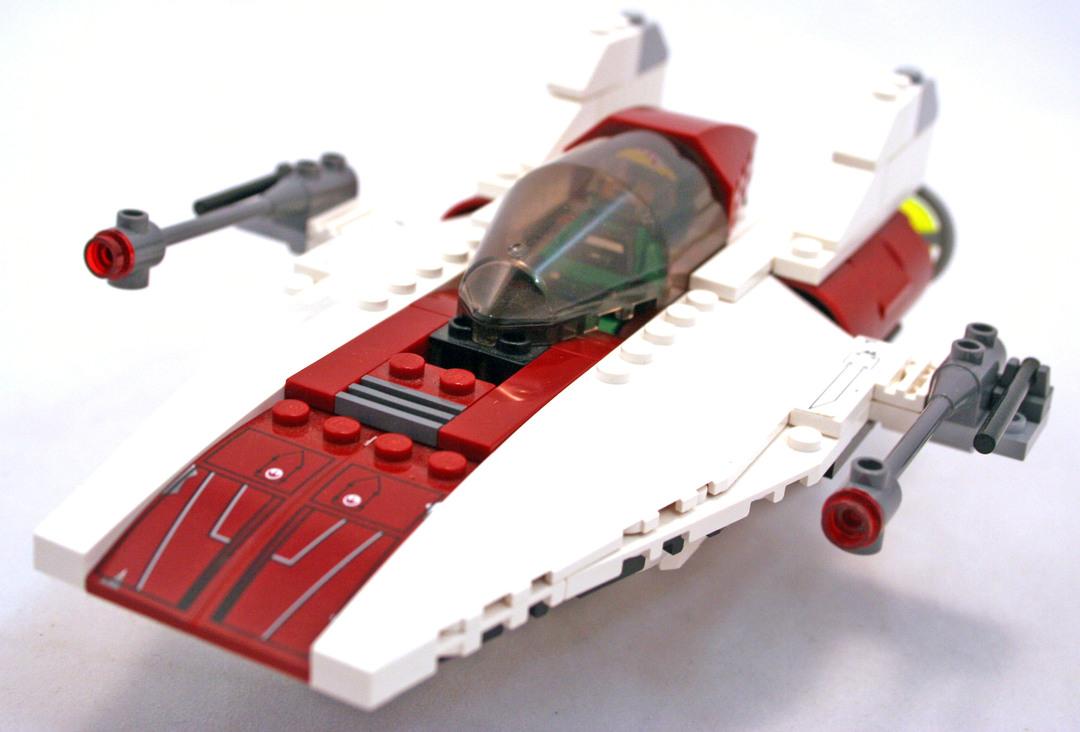 a wing fighter lego set 6207 1 building sets star wars classic. Black Bedroom Furniture Sets. Home Design Ideas