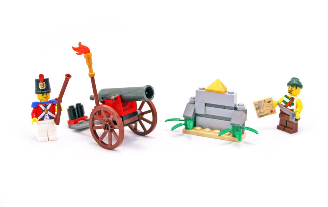 Cannon Battle - LEGO set #6239-1 - 1