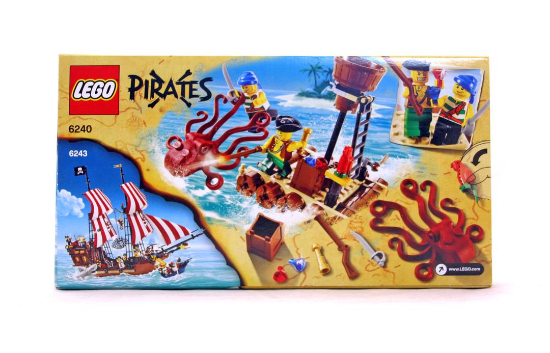 Kraken Attackin Lego Set 6240 1 Nisb Building Sets Pirates