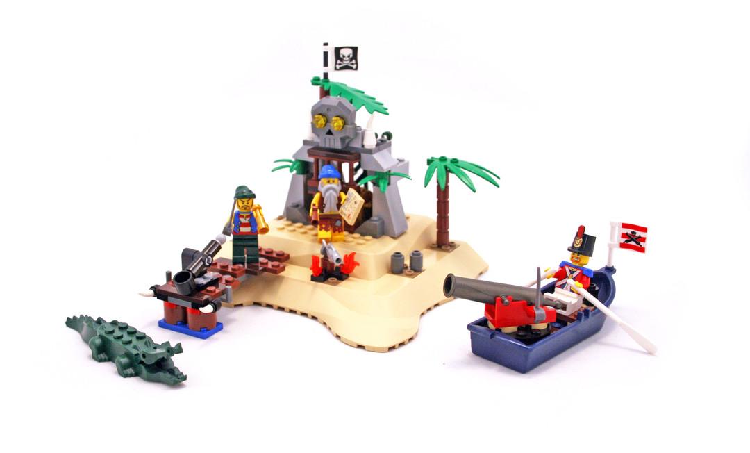 Loot Island - LEGO set #6241-1 - 1