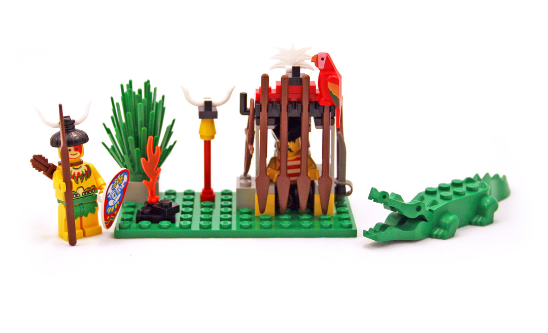 Crocodile Cage - LEGO set #6246-1