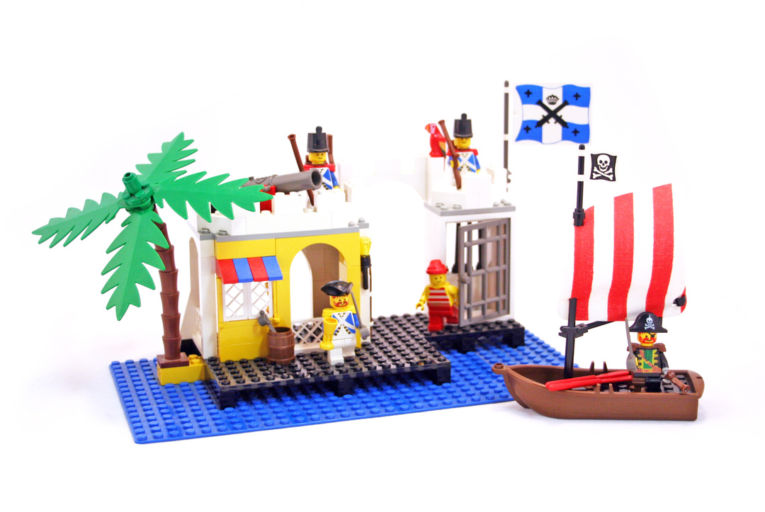 Lagoon Lock-Up - LEGO set #6267-1