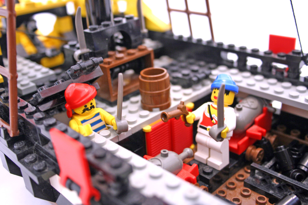 Lego Pirate Ship Instructions 6285