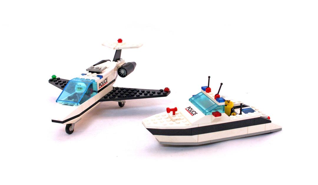 Jet Speed Justice - LEGO set #6344-1