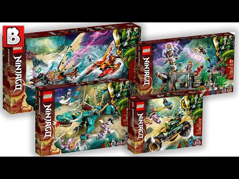 The Week of LEGO Ninjago! New Island Set Images + A Lot MORE!