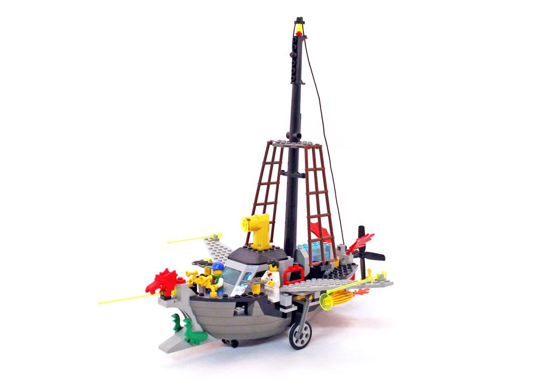 Flying Time Vessel - LEGO set #6493-1 - 1