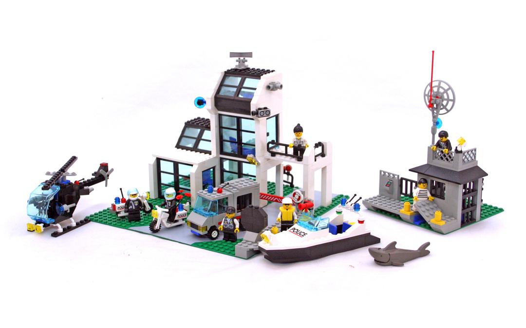 Metro PD Station - LEGO set #6598-1