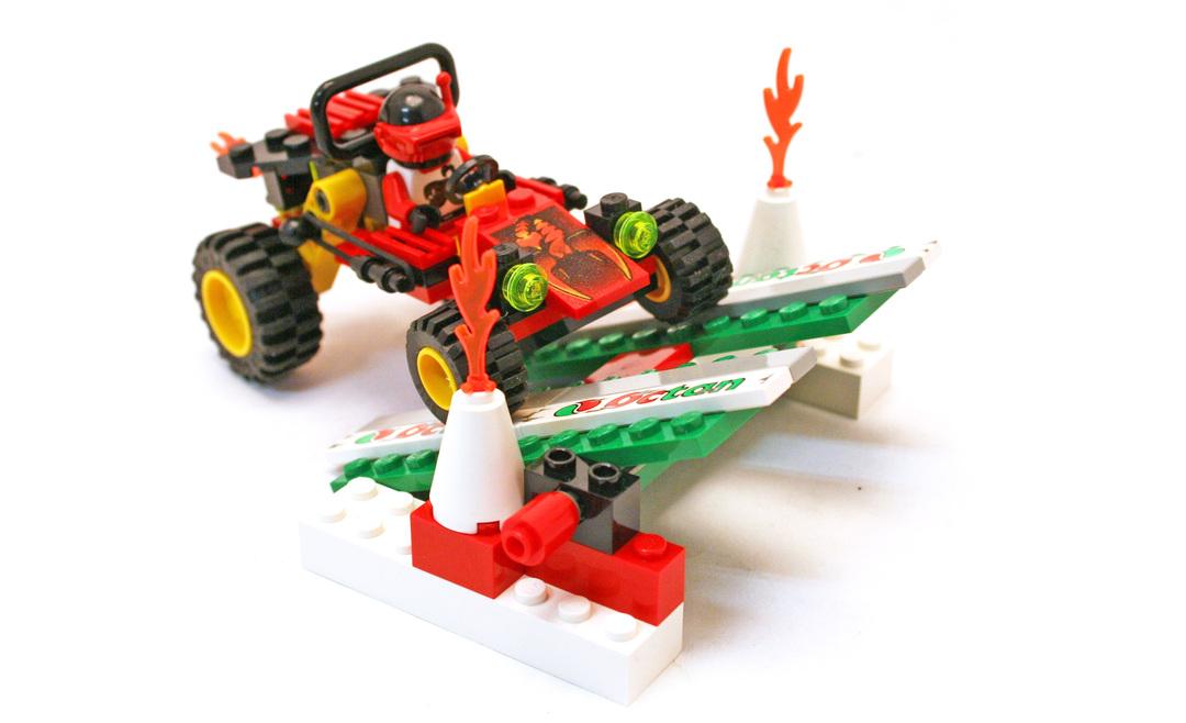 Fire Unit 1 - LEGO set #6602-1