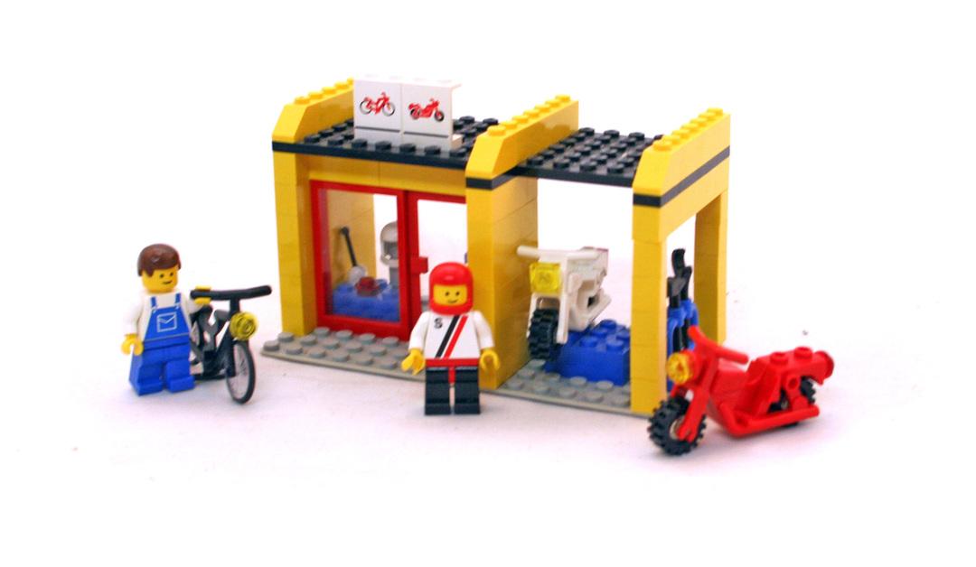 Cycle Fix-It Shop - LEGO set #6699-1 - 1