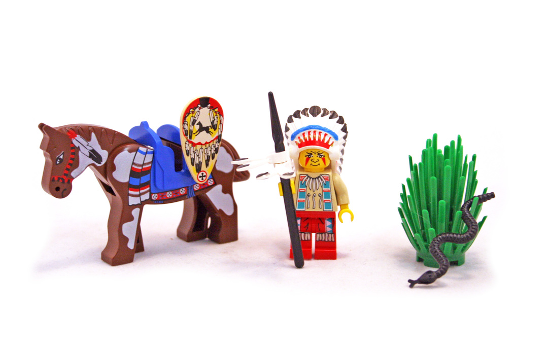 Tribal Chief - LEGO set #6709-1