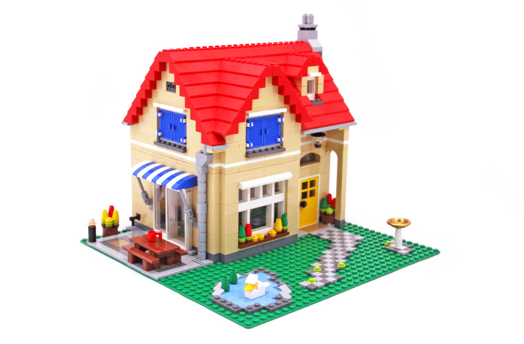 Family Home Lego Set 6754 1 Building Sets Gt Creator