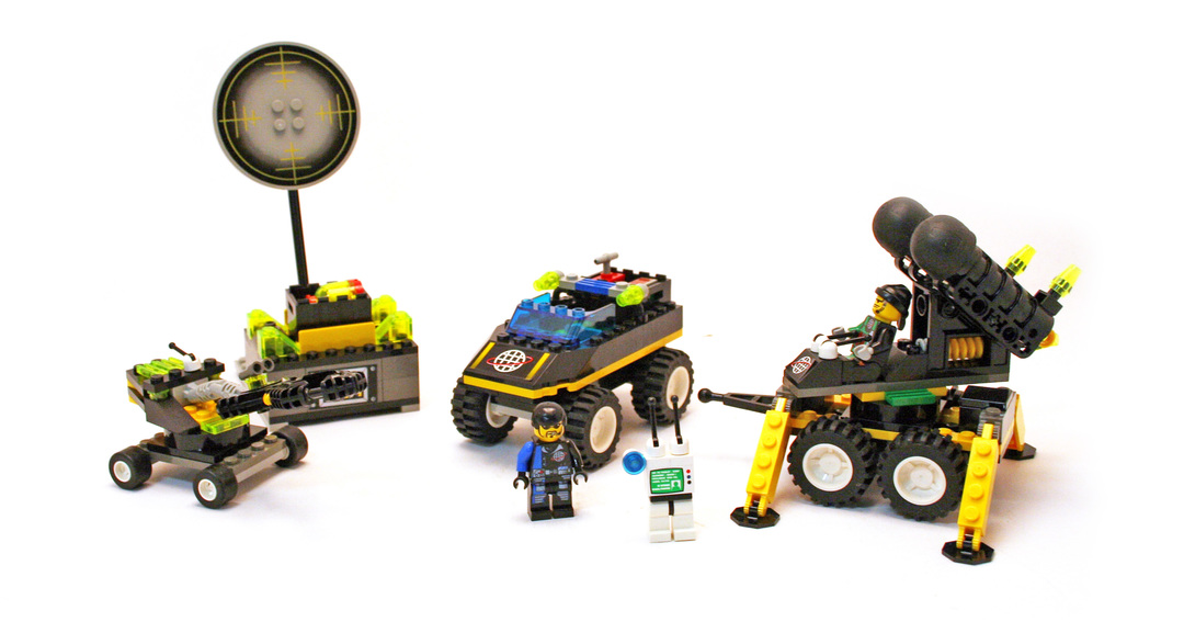 Alpha Team Bomb Squad - LEGO set #6775-1