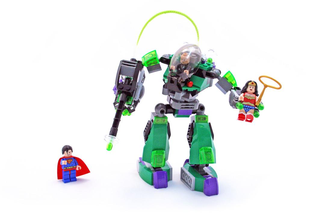 Superman Vs Power Armor Lex - LEGO set #6862-2