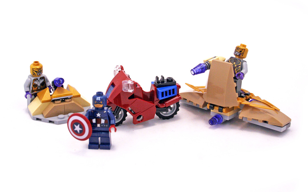 Captain America's Avenging Cycle - LEGO set #6865-1