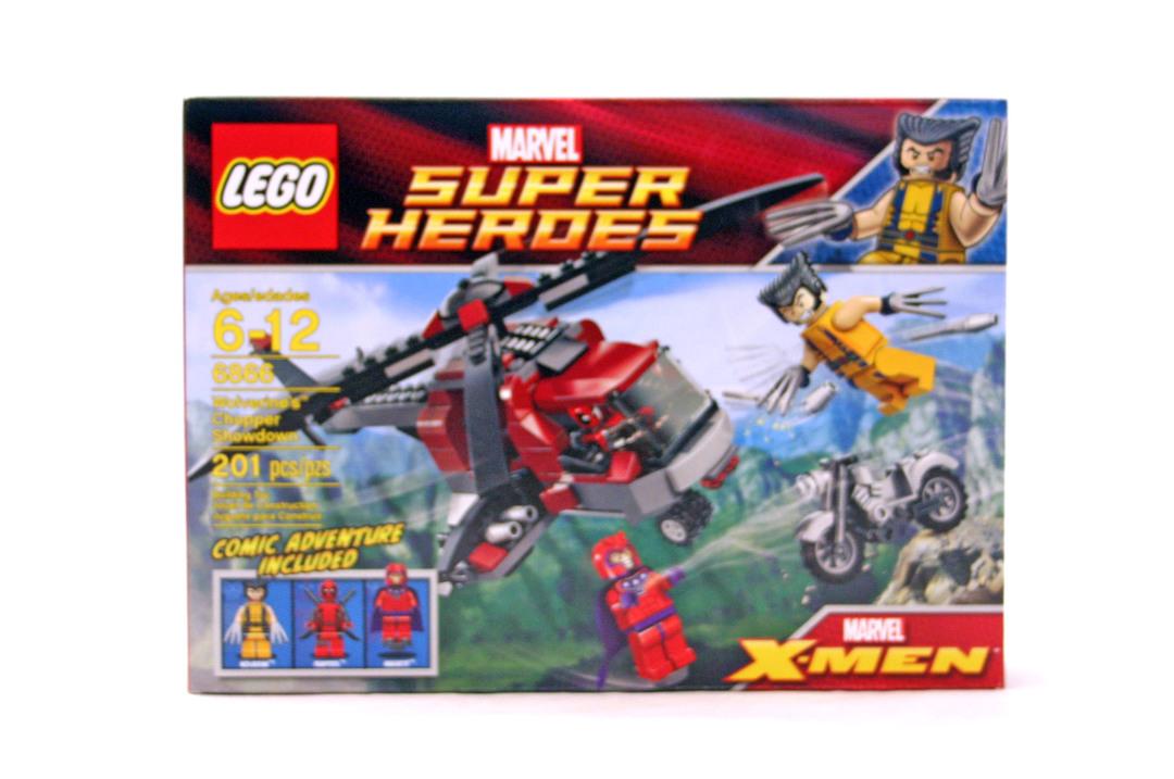 Wolverines Chopper Showdown Lego Set 6866 1 Nisb Building