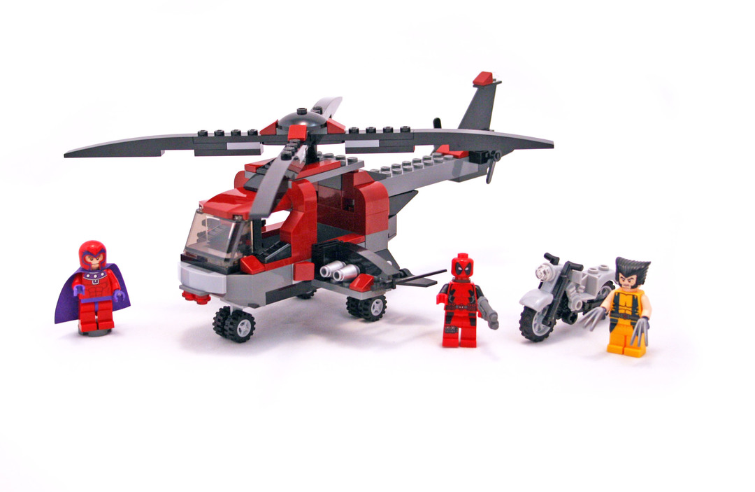 Wolverines Chopper Showdown Lego Set 6866 1 Building Sets
