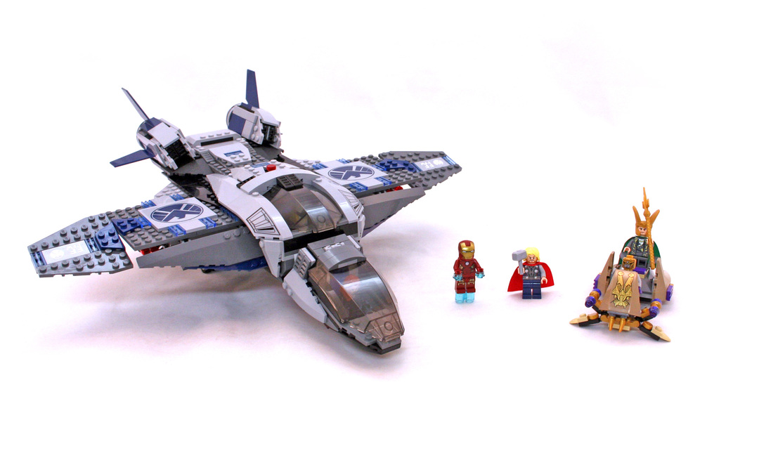 New listing Lego Super Heroes Avengers Quinjet Aerial Battle Instructions Book 3 ONLY.