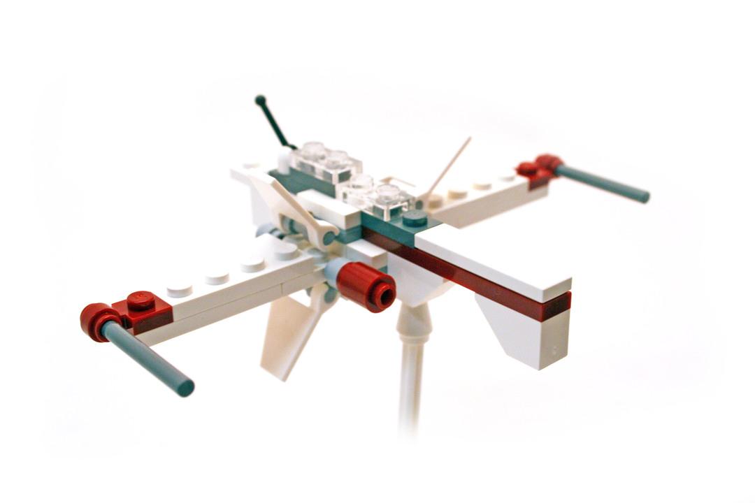 ARC-170 Starfighter - Mini - LEGO #6967