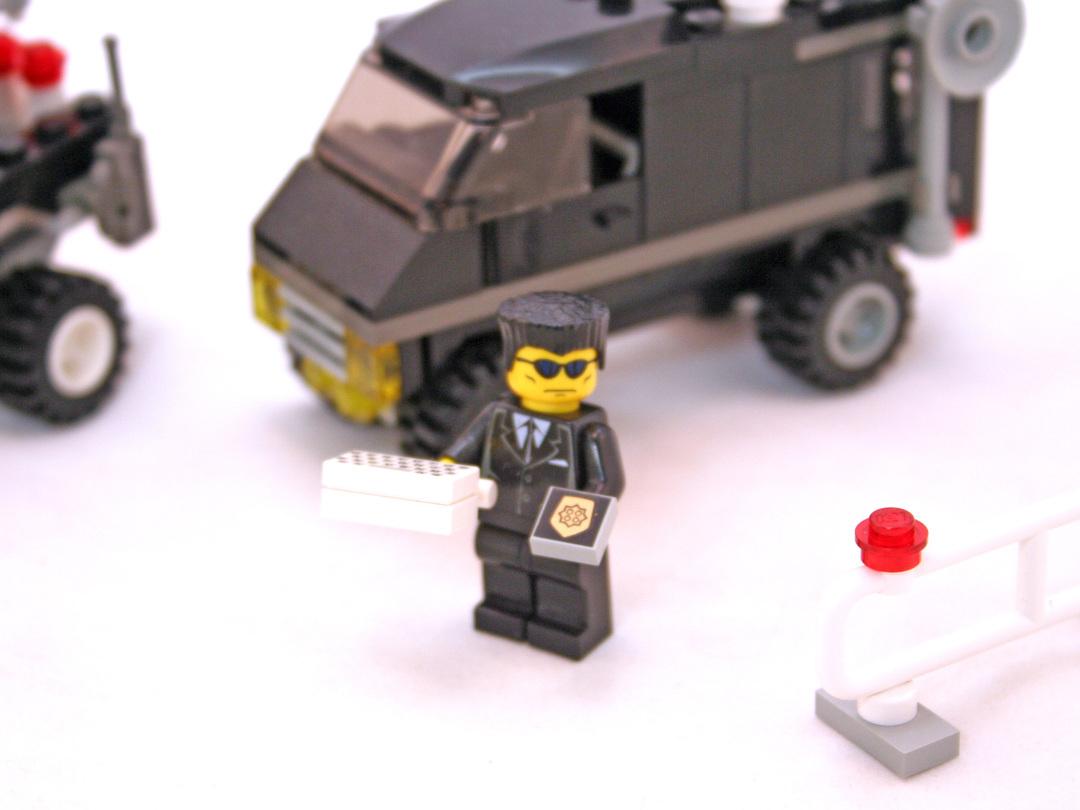 lego city police van instructions
