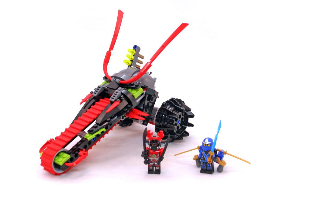 Warrior Bike - LEGO set #70501-1