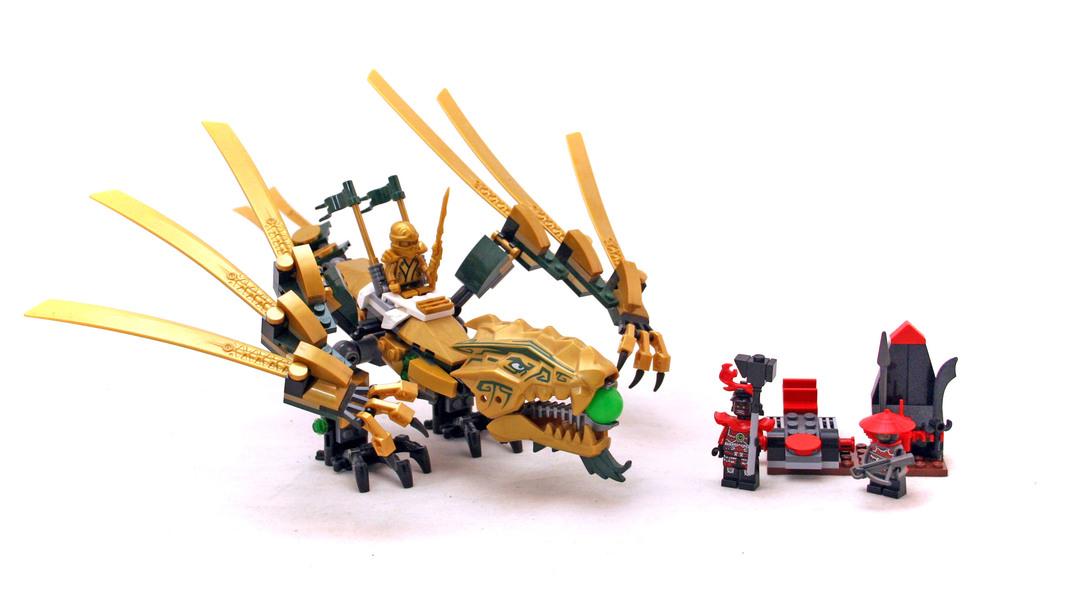 The Golden Dragon - LEGO set #70503-1 - 1