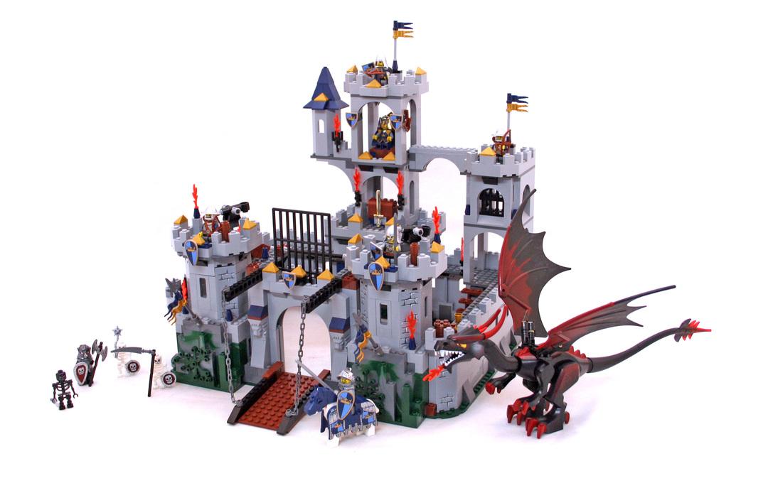 Kings Castle Siege Lego Set 7094 1 Building Sets Castle
