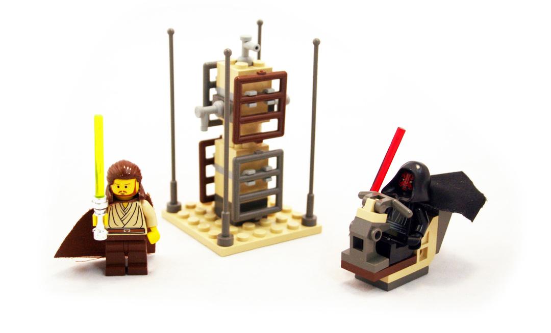 Lightsaber Duel - LEGO set #7101-1