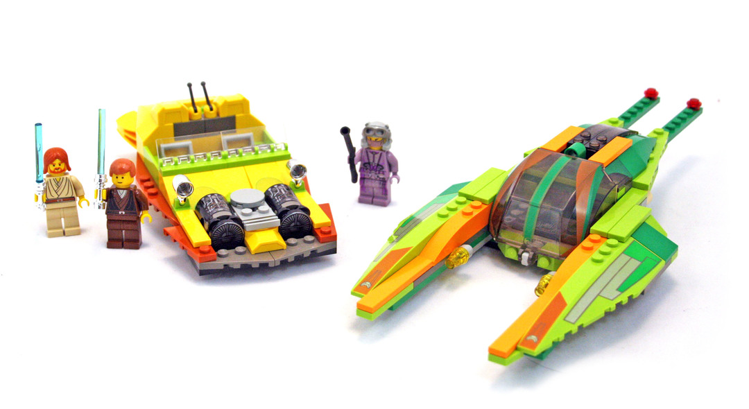 Bounty Hunter Pursuit - LEGO set #7133-1