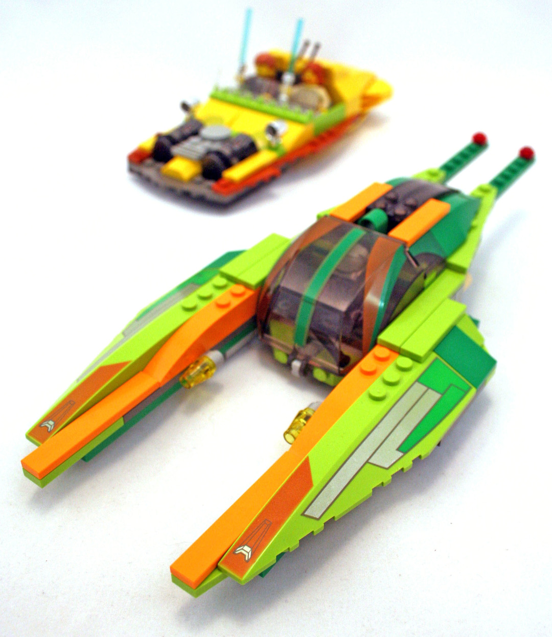 Lego Star Wars Bounty Hunter Pursuit Instructions