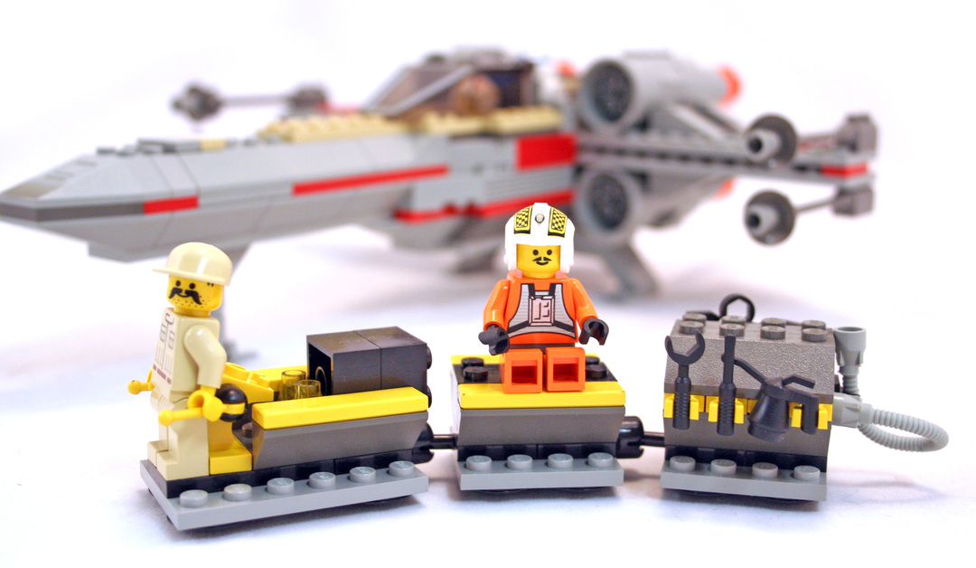 How To Building The Lego X Wing Fighter Instructions