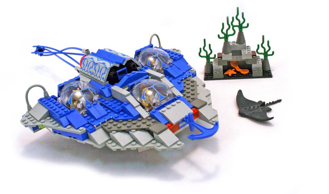 Gungan Sub - LEGO set #7161-1 - 1