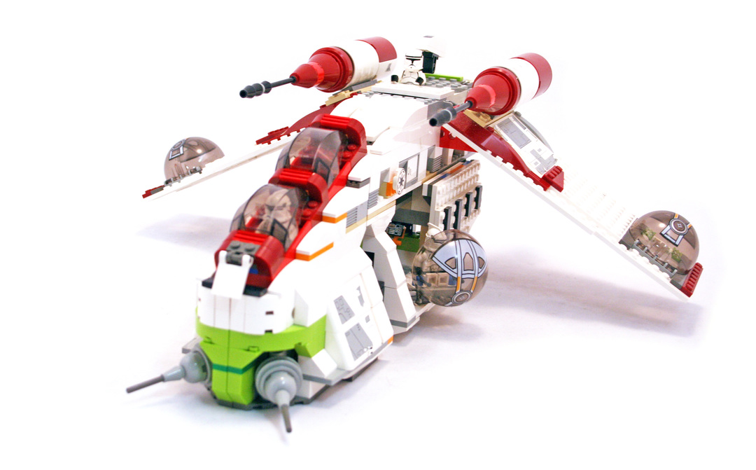 star wars republic gunship instructions