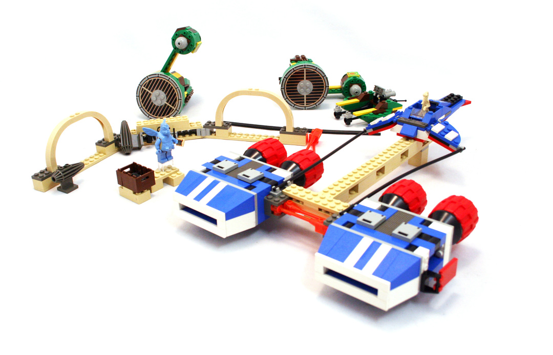 Watto's Junkyard - LEGO set #7186-1