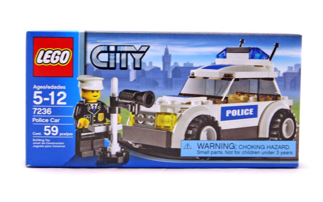 Police Car Lego Set 7236 1 Nisb Building Sets City Police