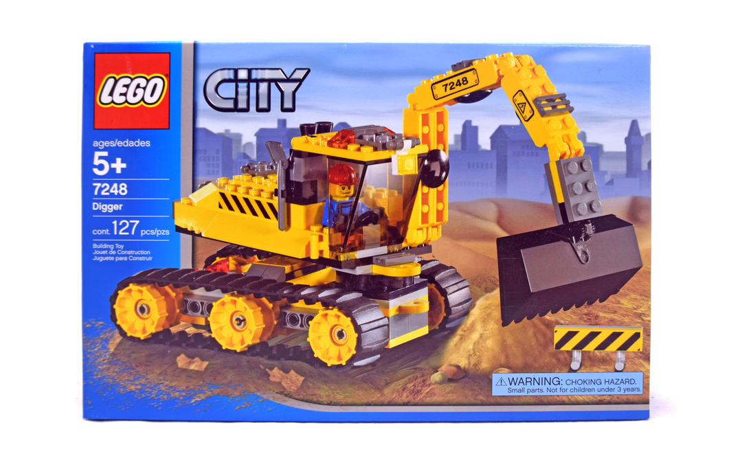 Digger - LEGO set #7248-1 (NISB) (Building Sets > City ...