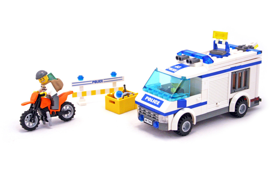 Prisoner Transport Lego Set 7286 1 Building Sets City